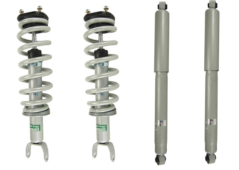 14-16 GMC Sierra 1500 RWD Front Quick Complete Struts /& Spring Assemblies Pair